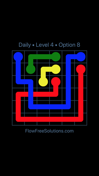 Solution and Answer to the Puzzle for Bridges Date Tuesday, December 4, 2018 Level 4
