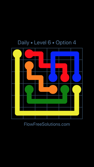 Solution and Answer to the Puzzle for Bridges Date Tuesday, December 4, 2018 Level 6