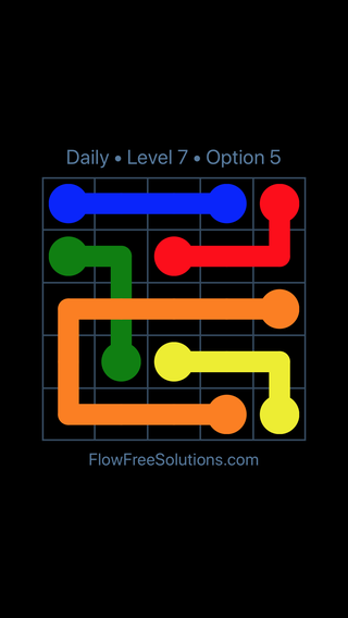 Solution and Answer to the Puzzle for Bridges Date Tuesday, September 11, 2018 Level 7