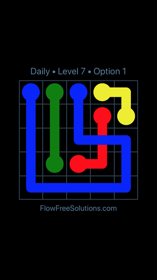 Solution and Answer to the Puzzle for Bridges Date Monday, March 11, 2019 Level 7