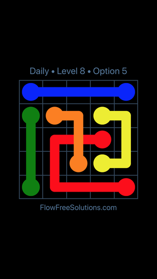 Solution and Answer to the Puzzle for Bridges Date Monday, April 5, 2021 Level 8