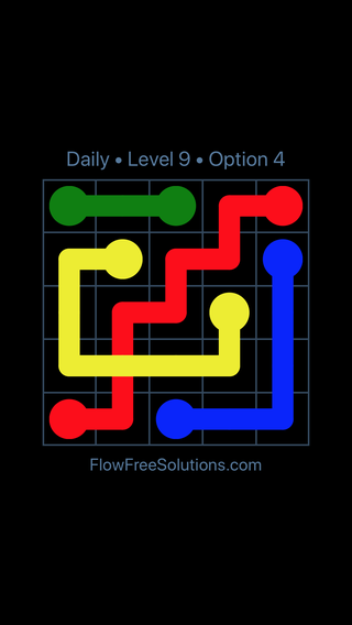 Solution and Answer to the Puzzle for Bridges Date Monday, April 5, 2021 Level 9
