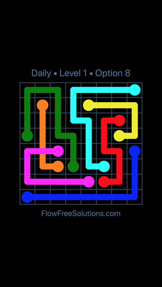 Solution and Answer to the Puzzle for Bridges Date Wednesday, August 14, 2019 Level 1