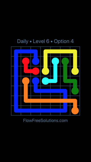 Solution and Answer to the Puzzle for Bridges Date Wednesday, August 14, 2019 Level 6