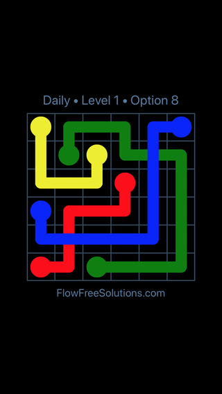 Solution and Answer to the Puzzle for Bridges Date Thursday, August 15, 2019 Level 1