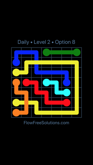 Solution and Answer to the Puzzle for Bridges Date Thursday, December 6, 2018 Level 2