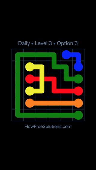 Solution and Answer to the Puzzle for Bridges Date Thursday, December 6, 2018 Level 3