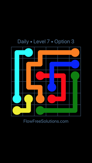 Solution and Answer to the Puzzle for Bridges Date Thursday, September 13, 2018 Level 7