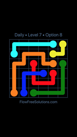 Solution and Answer to the Puzzle for Bridges Date Thursday, August 15, 2019 Level 7