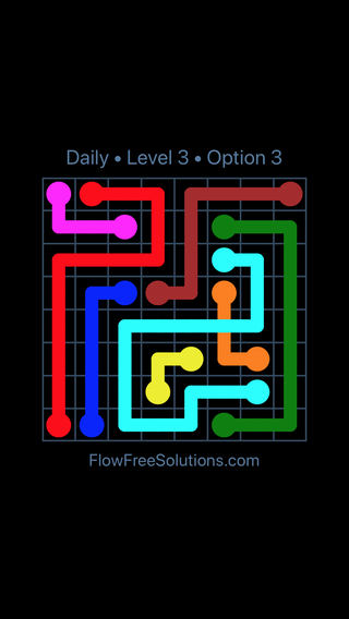 Solution and Answer to the Puzzle for Bridges Date Friday, September 14, 2018 Level 3