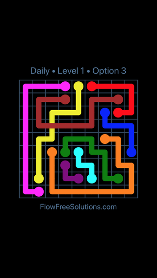 Solution and Answer to the Puzzle for Bridges Date Saturday, December 8, 2018 Level 1