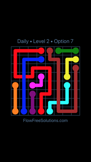 Solution and Answer to the Puzzle for Bridges Date Saturday, December 8, 2018 Level 2
