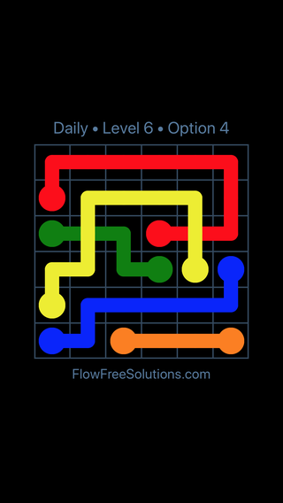 Solution and Answer to the Puzzle for Bridges Date Saturday, December 8, 2018 Level 6