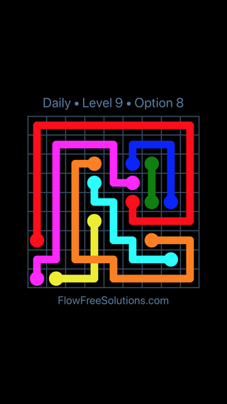 Solution and Answer to the Puzzle for Bridges Date Saturday, December 8, 2018 Level 9