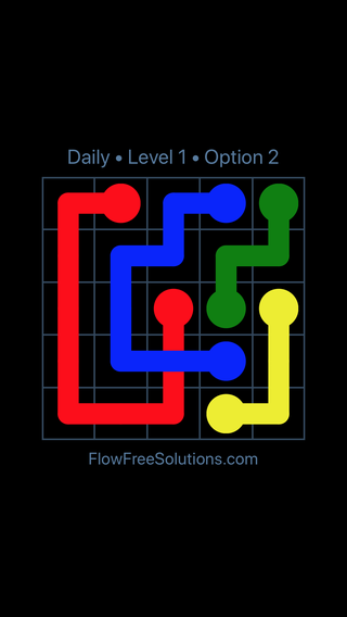 Solution and Answer to the Puzzle for Bridges Date Tuesday, March 12, 2019 Level 1