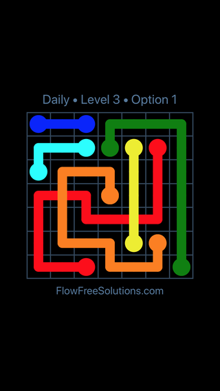 Solution and Answer to the Puzzle for Bridges Date Tuesday, March 12, 2019 Level 3