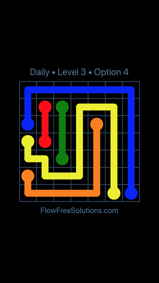Solution and Answer to the Puzzle for Flow Date Tuesday, October 13, 2020 Level 3
