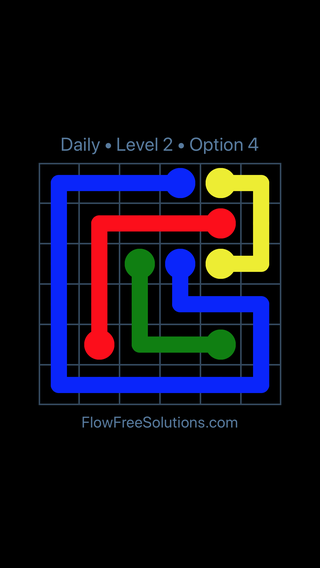 Solution and Answer to the Puzzle for Flow Date Wednesday, September 11, 2019 Level 2