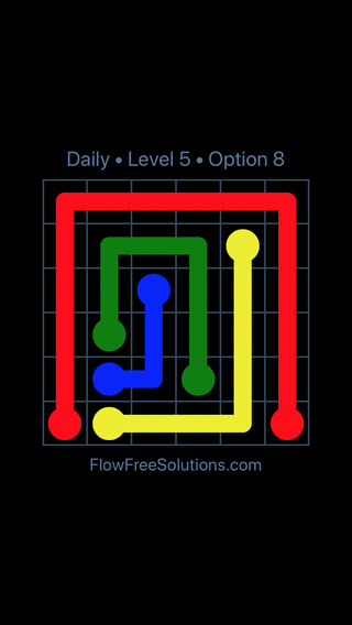 Solution and Answer to the Puzzle for Flow Date Wednesday, September 11, 2019 Level 5