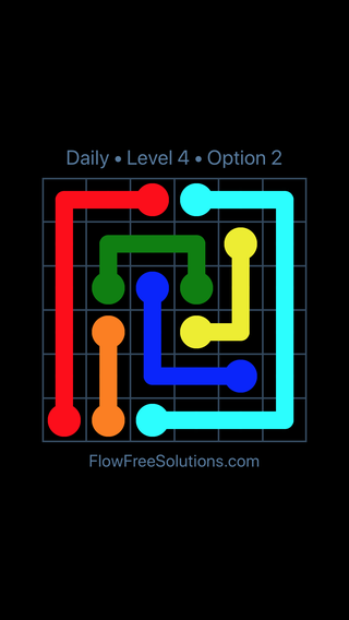 Solution and Answer to the Puzzle for Flow Date Sunday, November 12, 2017 Level 4