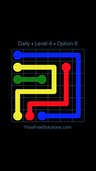 Solution and Answer to the Puzzle for Flow Date Monday, November 13, 2017 Level 4
