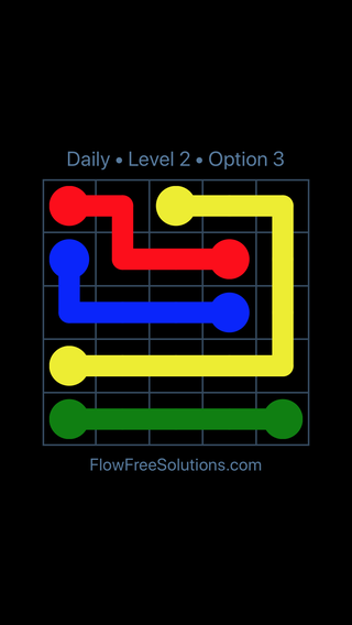 Solution and Answer to the Puzzle for Flow Date Wednesday, November 15, 2017 Level 2