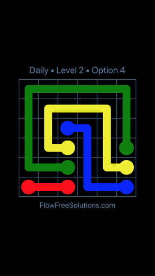 Solution and Answer to the Puzzle for Flow Date Monday, August 6, 2018 Level 2