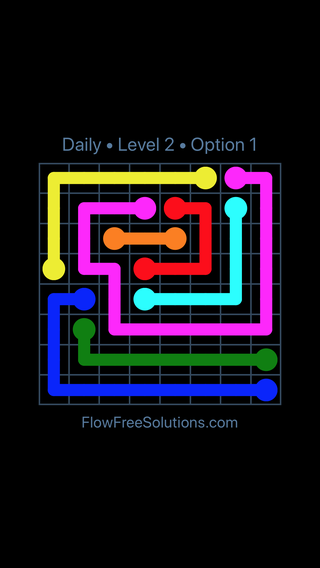 Solution and Answer to the Puzzle for Flow Date Wednesday, August 8, 2018 Level 2