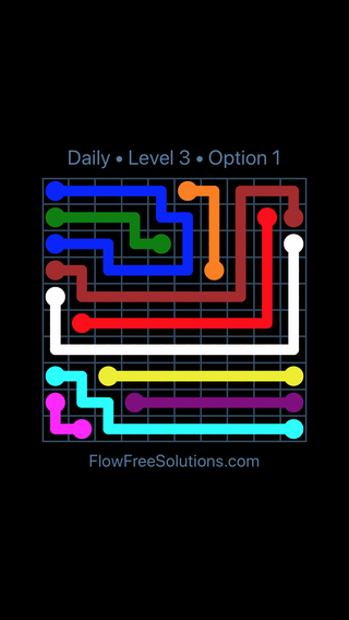 Solution and Answer to the Puzzle for Flow Date Friday, October 16, 2020 Level 3