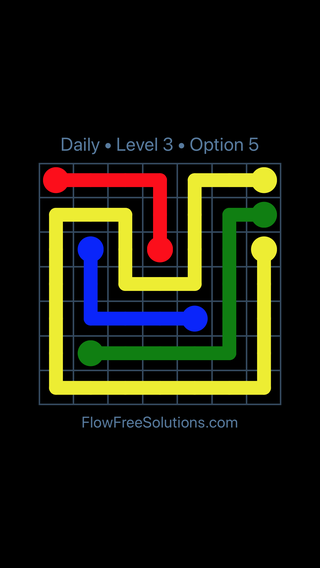 Solution and Answer to the Puzzle for Flow Date Tuesday, September 12, 2017 Level 3