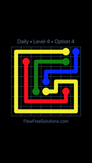 Solution and Answer to the Puzzle for Flow Date Tuesday, November 6, 2018 Level 4