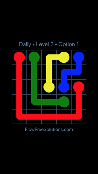 Solution and Answer to the Puzzle for Flow Date Wednesday, December 6, 2017 Level 2