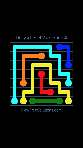 Solution and Answer to the Puzzle for Flow Date Thursday, September 14, 2017 Level 2