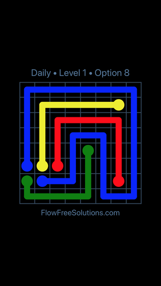 Solution and Answer to the Puzzle for Flow Date Friday, September 11, 2020 Level 1
