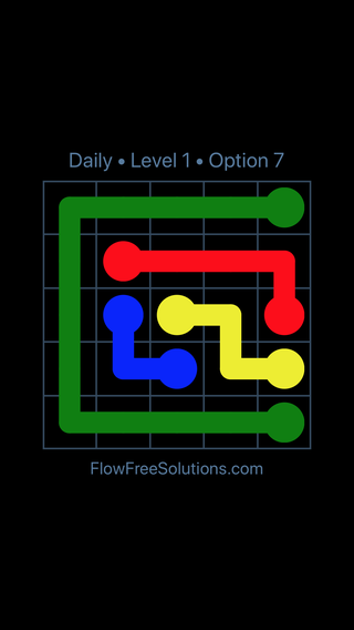 Solution and Answer to the Puzzle for Flow Date Thursday, September 17, 2020 Level 1