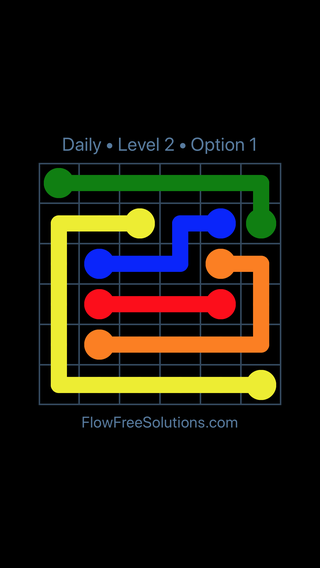 Solution and Answer to the Puzzle for Flow Date Thursday, September 17, 2020 Level 2