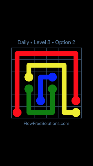 Solution and Answer to the Puzzle for Flow Date Thursday, September 17, 2020 Level 8