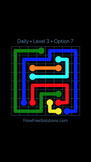 Solution and Answer to the Puzzle for Flow Date Monday, February 11, 2019 Level 3