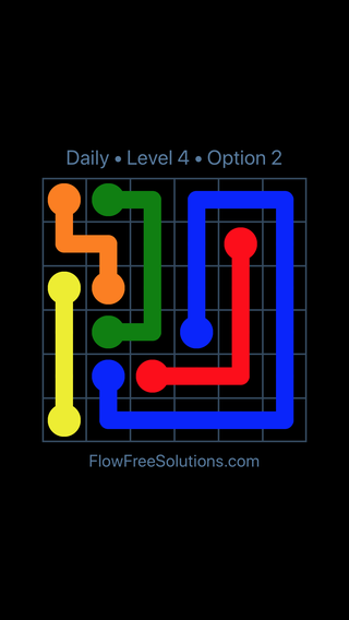Solution and Answer to the Puzzle for Flow Date Monday, February 11, 2019 Level 4