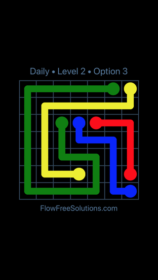 Solution and Answer to the Puzzle for Flow Date Tuesday, June 12, 2018 Level 2