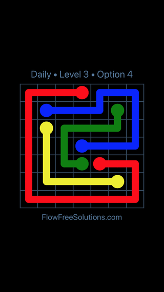Solution and Answer to the Puzzle for Flow Date Tuesday, June 12, 2018 Level 3