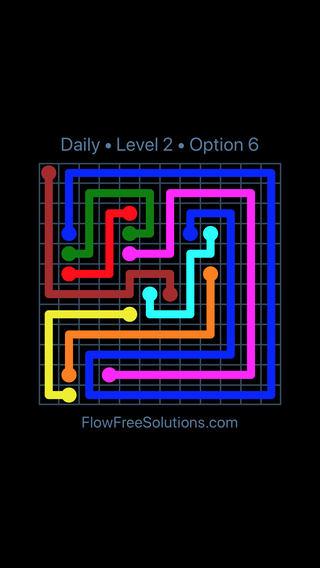Solution and Answer to the Puzzle for Flow Date Sunday, December 2, 2018 Level 2