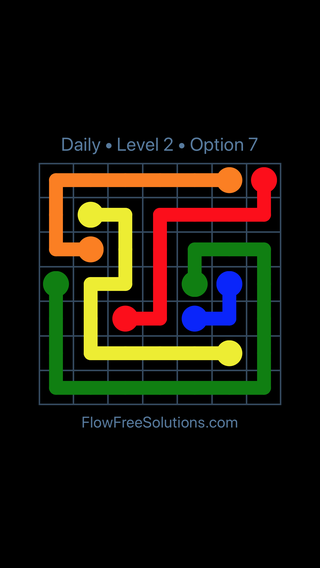 Solution and Answer to the Puzzle for Flow Date Monday, March 11, 2019 Level 2