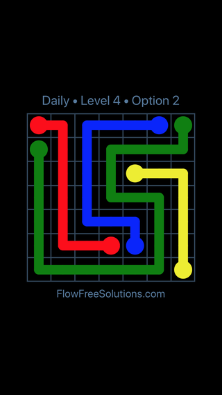 Solution and Answer to the Puzzle for Flow Date Monday, March 11, 2019 Level 4