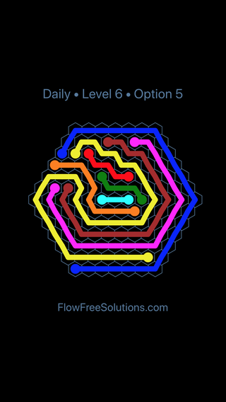 Solution and Answer to the Puzzle for Hexes Date Friday, January 11, 2019 Level 6