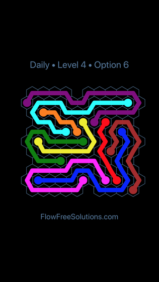 Solution and Answer to the Puzzle for Hexes Date Saturday, August 10, 2019 Level 4