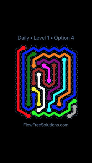 Solution and Answer to the Puzzle for Hexes Date Sunday, August 11, 2019 Level 1