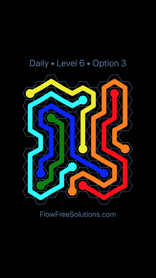 Solution and Answer to the Puzzle for Hexes Date Saturday, April 14, 2018 Level 6