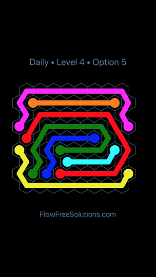 Solution and Answer to the Puzzle for Hexes Date Friday, January 12, 2018 Level 4