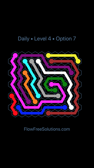Solution and Answer to the Puzzle for Hexes Date Saturday, February 9, 2019 Level 4